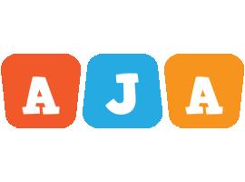 Aja comics logo