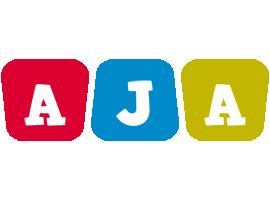 Aja daycare logo