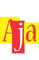 Aja errors logo