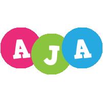 Aja friends logo