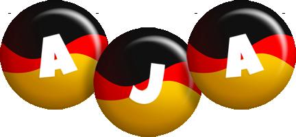 Aja german logo