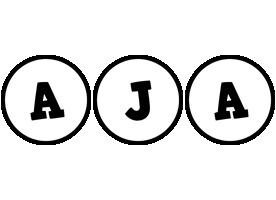 Aja handy logo