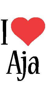 Aja i-love logo