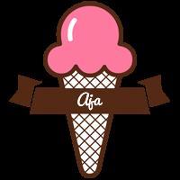 Aja premium logo
