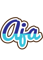 Aja raining logo