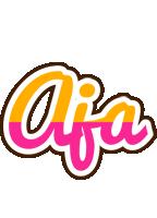 Aja smoothie logo