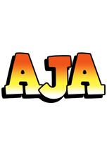 Aja sunset logo