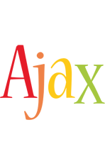 Ajax birthday logo