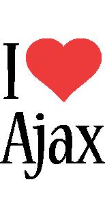 Ajax i-love logo