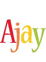 Ajay birthday logo