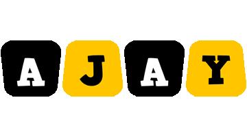 Ajay boots logo