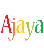 Ajaya birthday logo