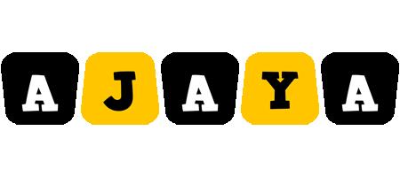 Ajaya boots logo
