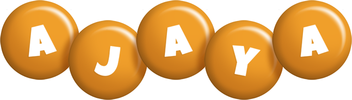 Ajaya candy-orange logo