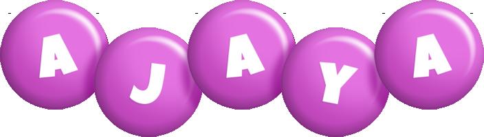 Ajaya candy-purple logo