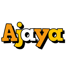 Ajaya cartoon logo