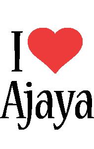 Ajaya i-love logo