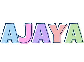 Ajaya pastel logo