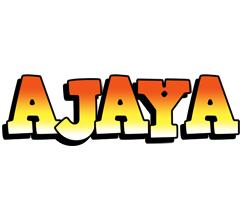 Ajaya sunset logo