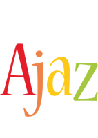 Ajaz birthday logo