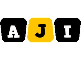 Aji boots logo