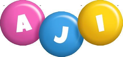 Aji candy logo