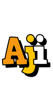 Aji cartoon logo