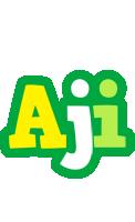 Aji soccer logo