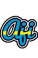 Aji sweden logo