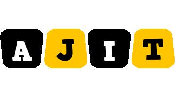 Ajit boots logo