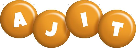 Ajit candy-orange logo