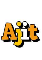 Ajit cartoon logo