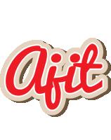 Ajit chocolate logo