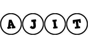 Ajit handy logo
