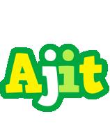 Ajit soccer logo