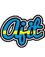 Ajit sweden logo