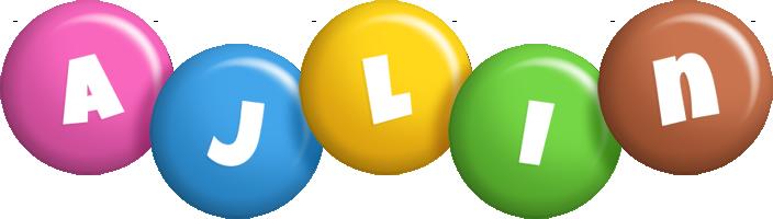 Ajlin candy logo