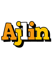 Ajlin cartoon logo