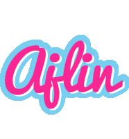 Ajlin popstar logo