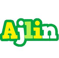 Ajlin soccer logo