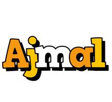 Ajmal cartoon logo