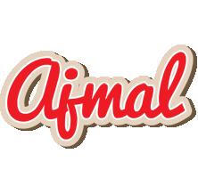 Ajmal chocolate logo