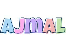 Ajmal pastel logo