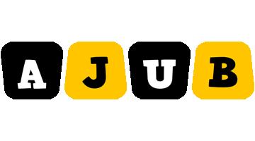 Ajub boots logo