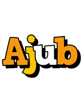 Ajub cartoon logo