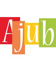Ajub colors logo