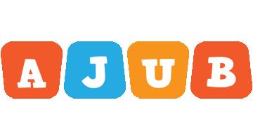 Ajub comics logo