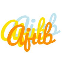 Ajub energy logo