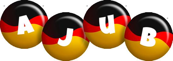 Ajub german logo