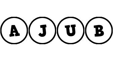 Ajub handy logo